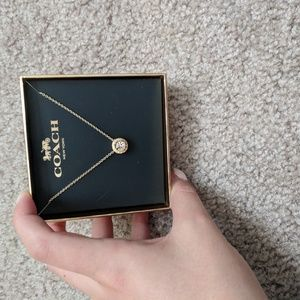 NEW IN BOX Coach Necklace